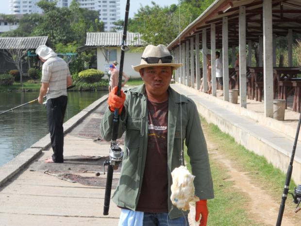 Наживка для ловли рыбы в Тайланде