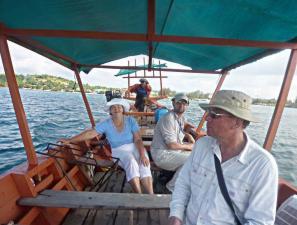 Камбоджа: лодка