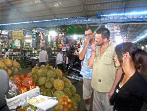 Камбоджа: дуриан