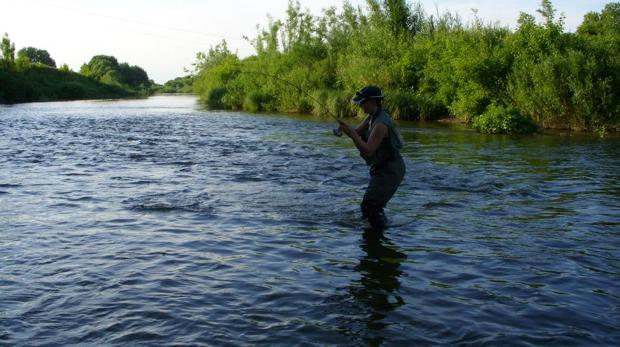 рыбалка на о чусовском летом