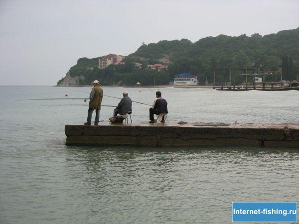 Рыбная ловля на Черном море