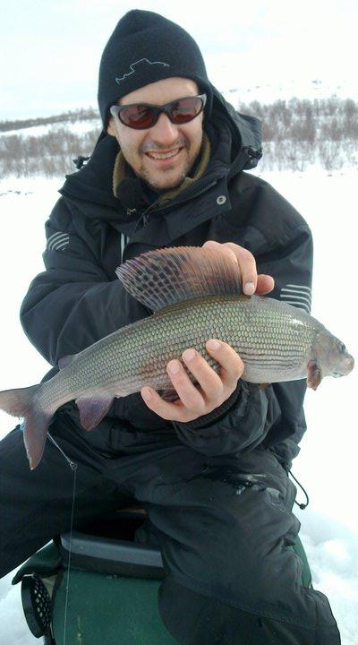 Зимняя ловля хариуса: найти, приманить и победить подготавливают место ловли