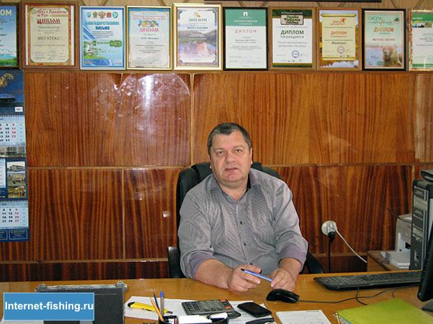 Руководитель компании «Мегатекс» – Андрей Галицкий