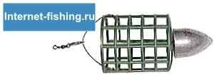 Кормушка-клетка «Ракета» - Rocket cage feeder