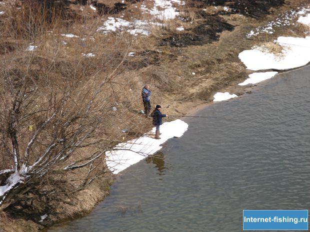 Рыбалка весной на Оке
