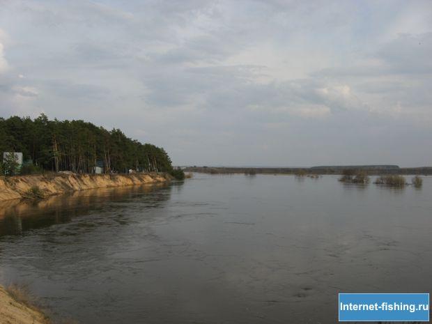 Разлив Угры - поселок Учхоз