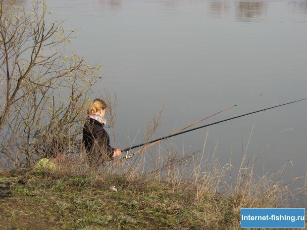 Безмятежность рыбаков ничто не может потревожить